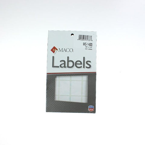 White Box Labels (14 Sizes)