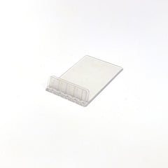 Clear Plastic Showcard Stand, Angled (Pack of 10)