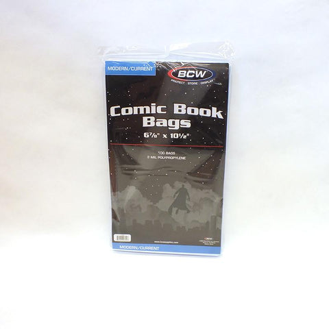 "6-7/8"" x 10-1/2"" Comic Book Sleeves (Pack of 100)"