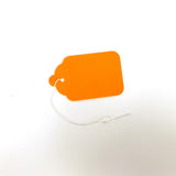 #8 Blank Fluorescent Strung Tags (Box of 400) 2 Colors