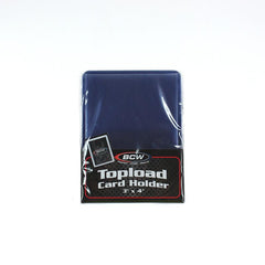 "3"" x 4"" Topload Card Holder (Pack of 25)"