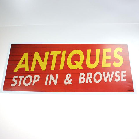 1 Sided Window Signs (4 Styles)