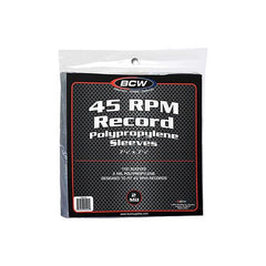 45 RPM Record Poly Sleeves (Pack of 100)