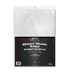 Sheet Music Sleeves (Pack of 100)