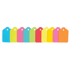 Exact Brights #6 Tags (10 Colors)