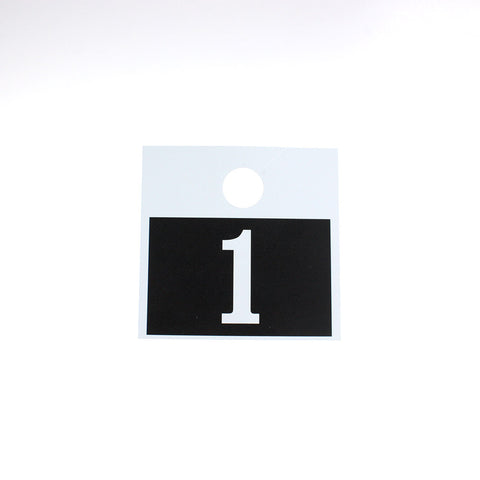 Giant Mirror Tag Numbers (3 series options)