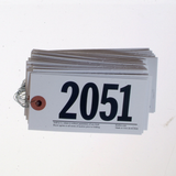 Numbered Power Tag, Size #7 - Wired (500/box)