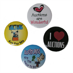 Auction Promotional Buttons