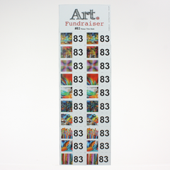 NEW Lucky Number Gift Games<br> (The Art Fundraiser Game)