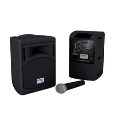 All-New Pro Audio Public Address System by Oklahoma Sound (3 Wireless options)