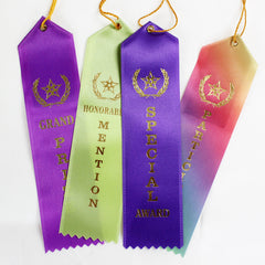 Honorable Mention & Participation Ribbon