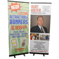 Custom Retractable Banner<br>(3 sizes)