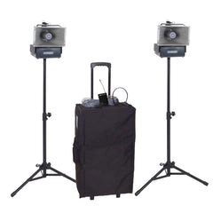Wireless Speaker Half Mile Hailer Package by Amplivox