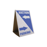 Custom Cardboard Tent Street Signs (25/pack)