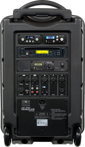 Galaxy Audio Traveler 10 (TV10) Wireless PA System