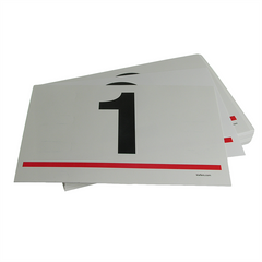 "VISTA Numbered Bid Cards (100/pack)<br>5-1/2"" x 8-1/2"""