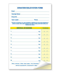 donation solicitation form