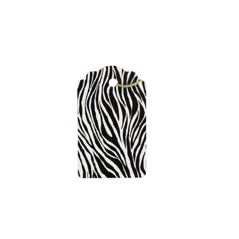 Zebra Stripe Tag (Box of 100) 2 Sizes