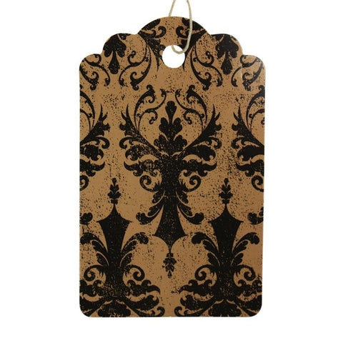 Damask Tag (Box of 100) 2 Sizes