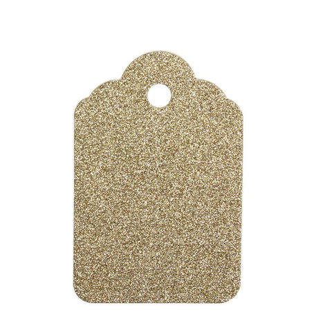 Glitter #6 Tags (2 Colors)