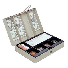 STEELMASTER® Cash Box with Locking Latch