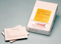 Absentee Bid Forms
