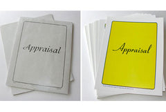 Appraisal Cover Sets