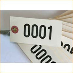 Time Saver Numbered Tags (1000/box)