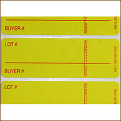 Style 5 Lotting Label - Super Stick (1000/roll)