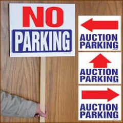 Auction Parking Signs (Pack of 50)