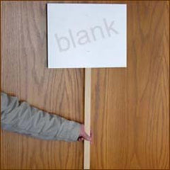 Blank Signs (Pack of 50)