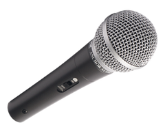 "Handheld mic with 20 ft. 1/4"" cable from Anchor Audio"