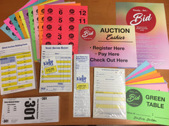 NEW Silent Auction Kit <BR>(just $9.85 shipping)