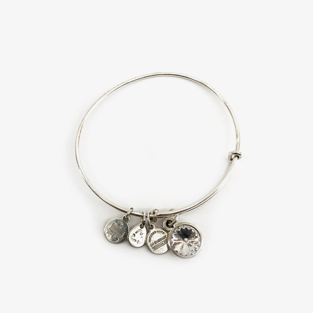 Alex and Ani Bracelet - April Birthstone
