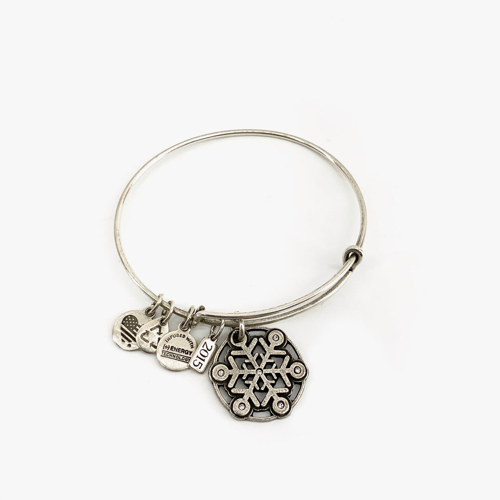 Alex and Ani Bracelet - Snowflake