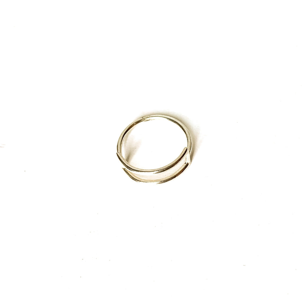 MENT Jewellery Ring - Silver Parallel