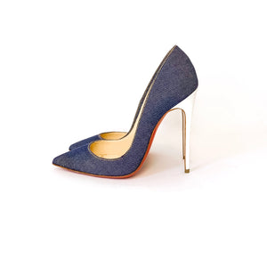 "Christian Louboutin ""Denim So Kate"" Pumps - 35"