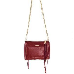 "Rebecca Minkoff ""3-Zip Rocker"" Crossbody Bag"