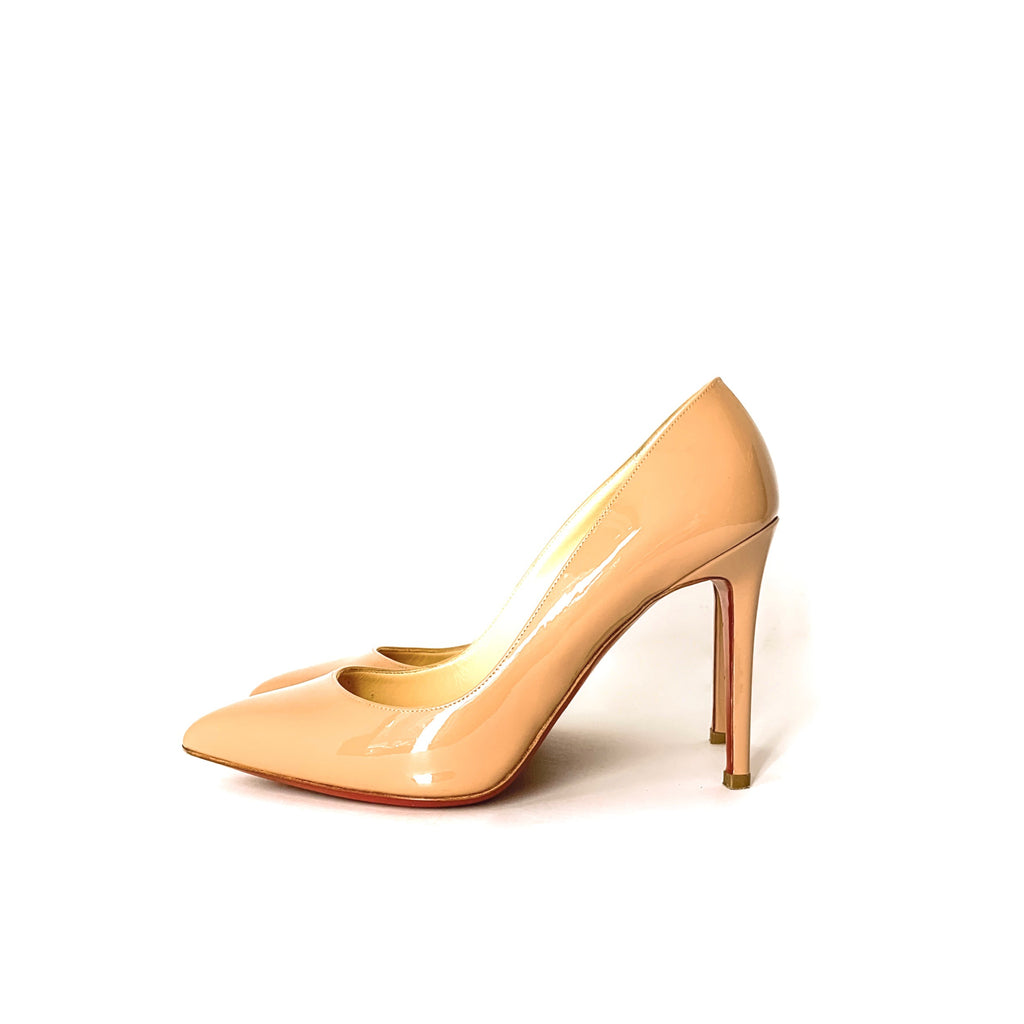"Christian Louboutin ""Pigalle 100mm"" Pumps - 37.5"