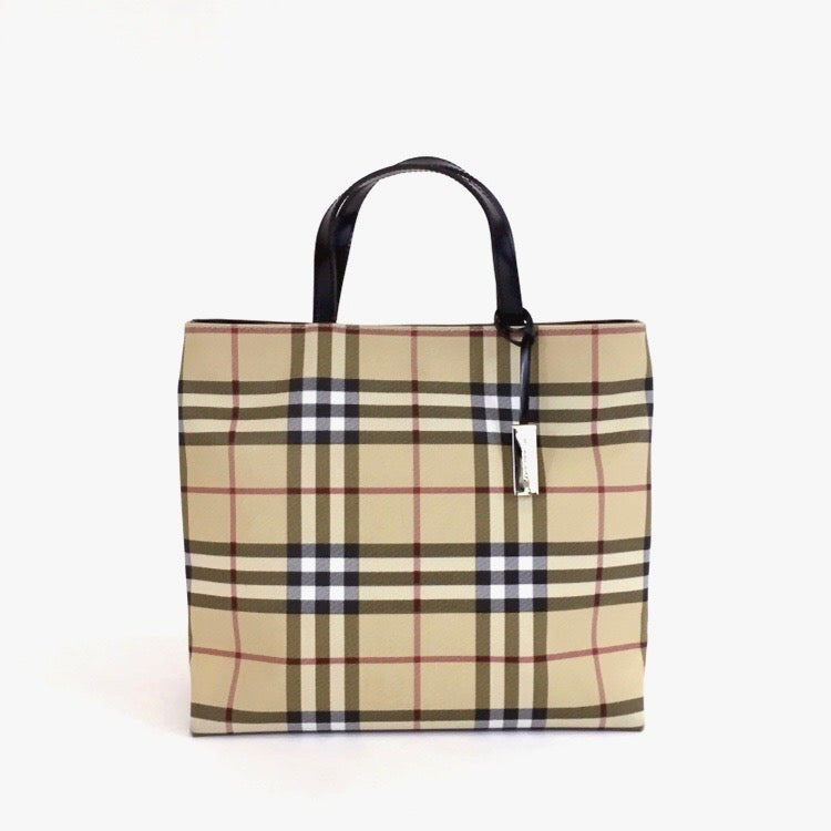 Burberry London Nova Check Tote