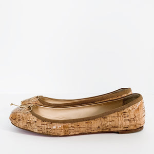 "Christian Louboutin ""Rosella Flat Cork"" Shoes"
