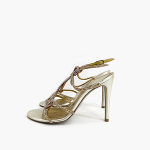 René Caovilla Shoes - Nappa Sweet Dune - 36