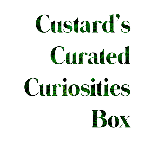 Introducing the Custard Curated Curiosities Box!