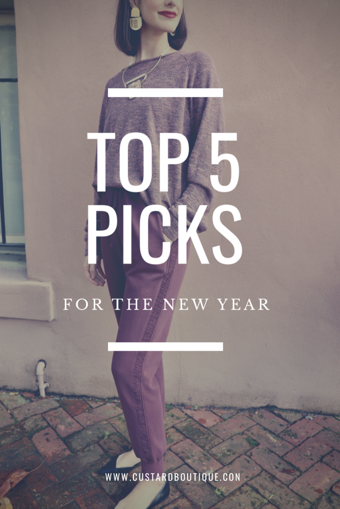 Top Picks for the New Year