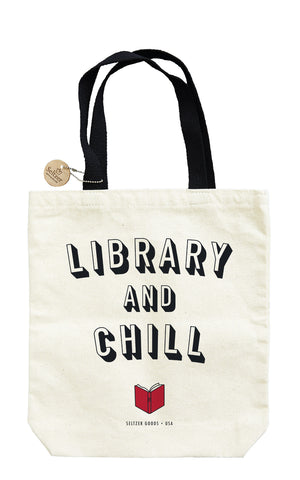Library and Chill Tote