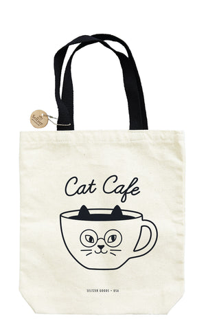 Cat Cafe Tote