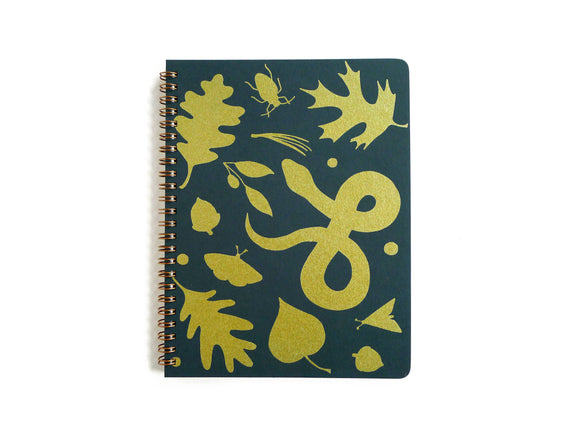 Forest Floor Coil Notebook