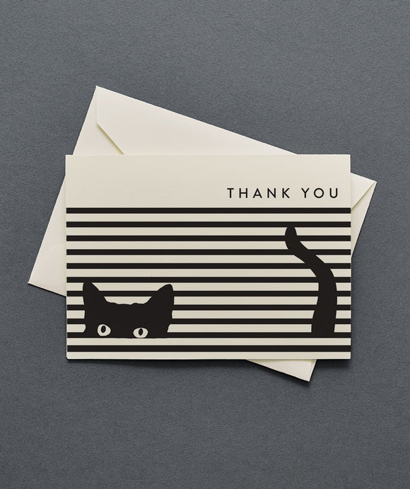Cat Thank You Cards Set