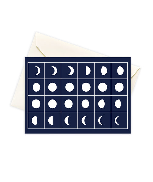 Moon Phase Stationery Set