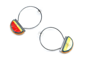 Diam Small Hoops